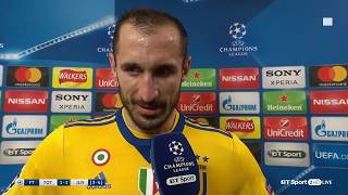 Emotional Giorgio Chiellini dedicates Juventus victory to Davide Astori
