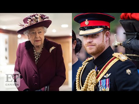 Prince Harry And Queen Elizabeth's Meeting At Windsor Castle