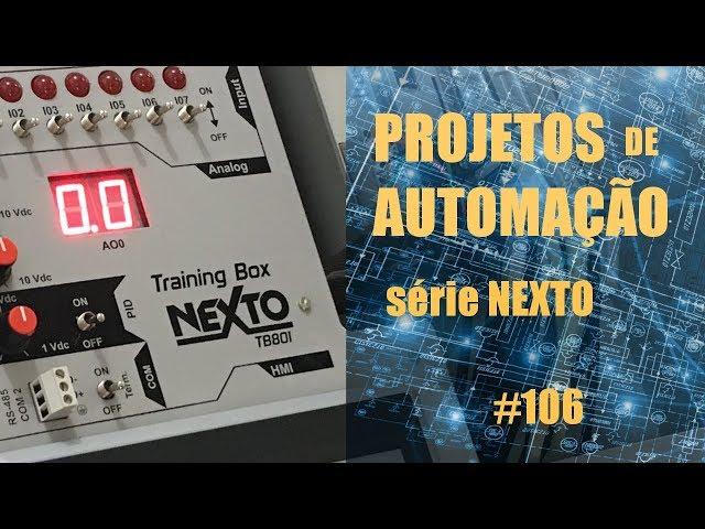 CORTINA DE LUZ PARA PARADA DE EMERGÊNCIA | Projetos de Automação #106