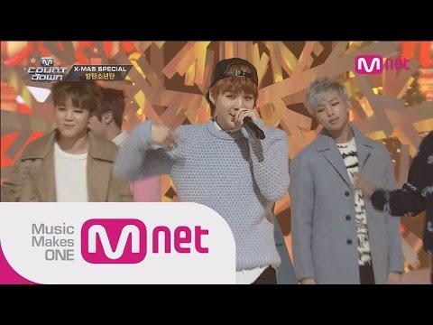방탄소년단(BTS) - 하루만(Just One Day) + 호르몬전쟁(War of Hormone)   M COUNTDOWN 406화