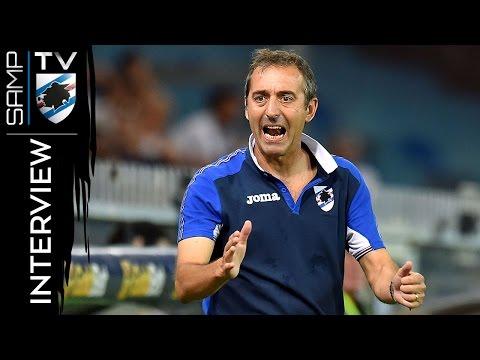 Sampdoria-Atalanta, Giampaolo: «Siamo stati squadra»