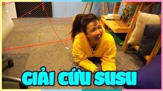 Giải cứu SUSU | Rescue SuSu | CRAZY LASER GAME | Vannie in wonderland