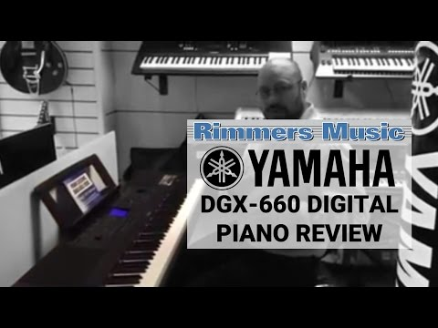 Yamaha DGX660 Digital Piano | White | Big Bundle