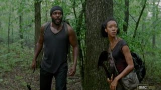 The Walking Dead - Tyreese and Sasha introduction 3x08