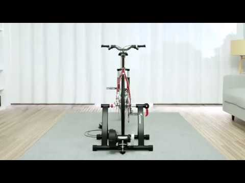 video Bike Trainer Stand Exercise