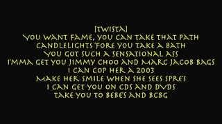 Twista - Overnight Celebrity [lyrics on screen]