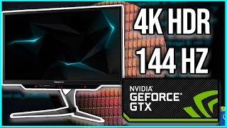 Monitores 4K HDR 144Hz, mas retrasos en los 10 nm de intel y AMD Threadripper 2000