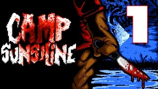 Camp Sunshine - A GRIZZLY SLASHER HORROR GAME, Manly Let's Play Pt.1