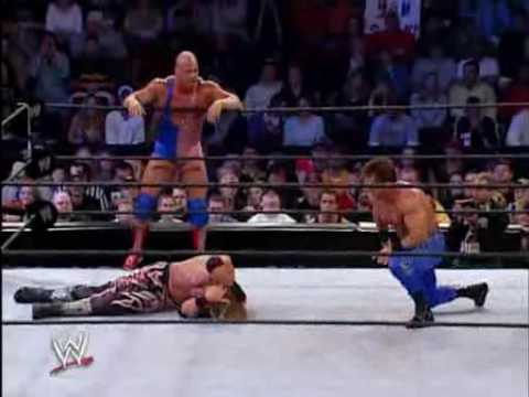 Kurt Angle et Chris Benoit vs Edge et Rey Mysterio part 2