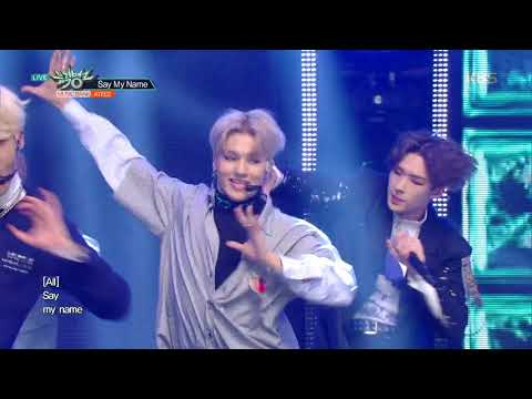 뮤직뱅크 Music Bank - Say My Name  - ATEEZ(에이티즈).20190201