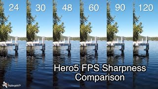 Hero5 Black - 1080p 24-120 FPS Quality Sharpness Comparison - GoPro Tip #546