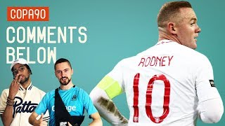 Where Does Rooney Rank Amongst England's All-Time Greats? | Comments Below