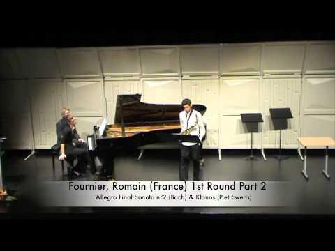 Fournier, Romain (France) 1st Round Part 2