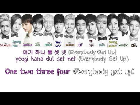 SEVENTEEN (세븐틴) - Shining Diamond  [Colour coded Hangul/Rom/Eng Lyrics]