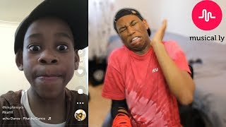 REACTING TO MY 9 YEAR OLD BROTHERS MUSICAL.LYS (CRINGEY)