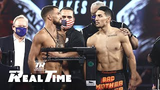 Behind-the-Scenes with Loma and Lopez at the Weigh-In | Real Time EP. 5