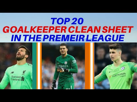 Top 20 Best GOALKEEPER In The Premier League - Last Season - Goalkeeper Clean Sheet Comparison