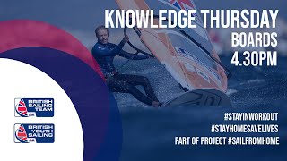 Knowledge Thursday- Boards, Pre Start Strategy With RYA Coach Rob York