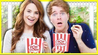 THE POPCORN CHALLENGE with ROSANNA PANSINO
