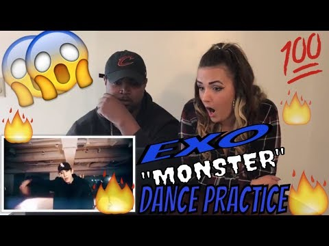 EXO 엑소 'Monster' Dance Practice(COUPLE REACTS)