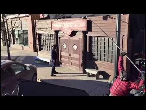 Wynonna Earp Doc Holliday slo-mo revenant toss video