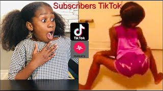 REACTING TO MY KID  SUBSCRIBERS CRINGEY TIKTOK- MUSICAL.LY VIDEOS!! Its minai
