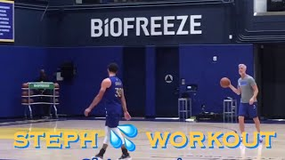 [HD] Steph Curry 💦 workout at Warriors (0-0) practice, 4 days before Opening Night vs LA Clippers