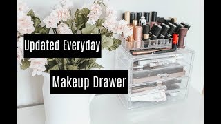 Updated Everyday Makeup Drawer
