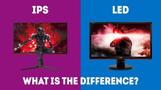 IPS vs  LED - What's The Difference? [Explained]