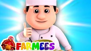 Pat una torta   Canciones Infantiles   Videos para bebes   Farmees Español   Educación   Preescolar