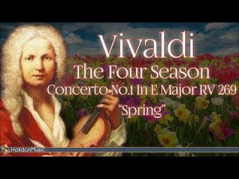 Vivaldi: The Four Seasons, Concerto No. 1 in E Major, RV 269 'Spring' | Classical Music