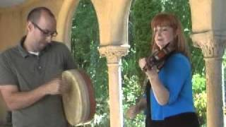 Cady FInlayson - Irish fiddle and Bodhran at Caramoor: Cady Finlayson & Tim Alworth