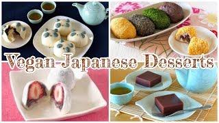 Top 10 Vegan Japanese Desserts Recipes | OCHIKERON | Create Eat Happy :)