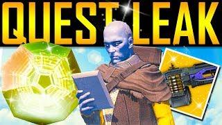 Destiny 2 - QUEST LEAK! New Exotic! Future DLC! Lost Secrets!