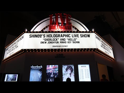 d'strict_1208_SM Art Exhibition_Live Hologram_Korea