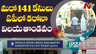 141 tested positive for coronavirus in AP past 24 hours..