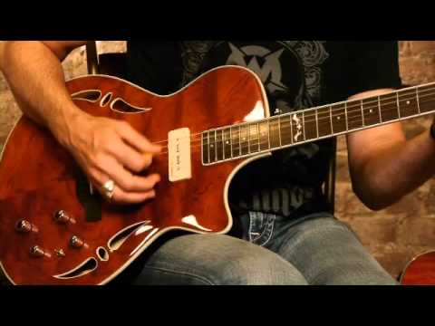 Crafter Slim Arch Top Guitar - SAT model demonstration with Damon Johnson