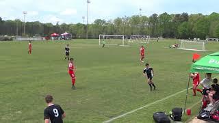 AFC Lightning 03 Gold 1  vs  I-10 Futbol Alliance 03B  04-13-19  (first half)