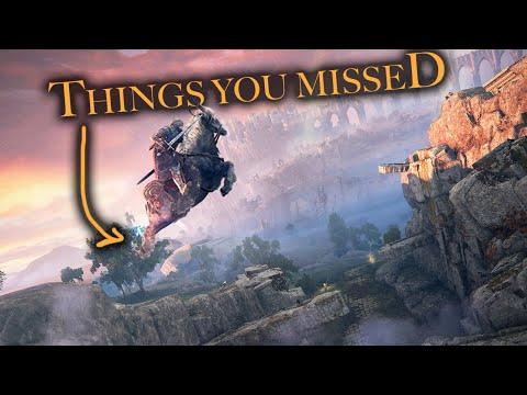 Elden Ring - Things You MISSED In The Gameplay Trailer (4K)