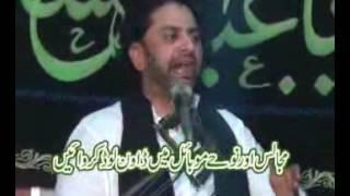 Allama Nasir Abbas Biyan Allah ki Madad ka nam Ali hey