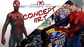 Amazing Spider-Man 2 CONCEPT SUIT!? Review and Unboxing