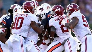 Greatest Moments in Iron Bowl History