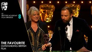 The Favourite Wins Outstanding British Film | EE BAFTA Film Awards 2019