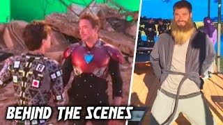 AVENGERS 4: Endgame BEHIND THE SCENES & BLOOPERS (2019) Part 2