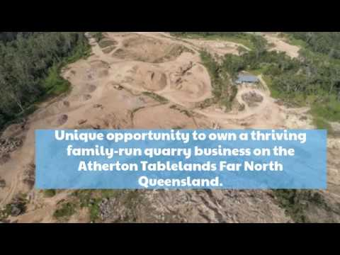 SANDSTONE BUSINESS FOR SALE IN NORTH QLD, ATHERTON