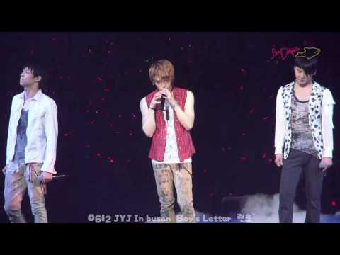JYJ - The Boy's Letter 소년의 편지 FMV [eng + rom + hangul + karaoke sub]