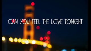 /boyce avenue can you feel the love tonight ft connie talbot lyrics