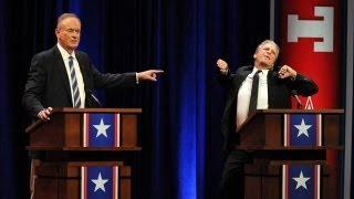 John Stewart DESTROYS Bill O'Reilly : THE DEBATE HIGHLIGHT!