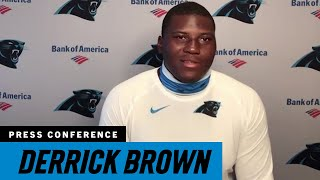 Derrick Brown reflects on his first NFL training camp