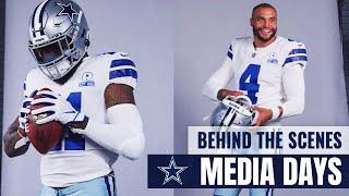Behind the Scenes: Cowboys Media Days | Dallas Cowboys 2020